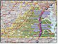 I-95 Virginia map