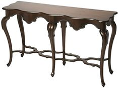 New #Console Table Vintage Modern #Hall #Furniture Style Wood Plantation Cherry #Butler