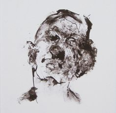 Hey, I found this really awesome Etsy listing at https://www.etsy.com/listing/243356539/contemporary-abstract-portrait-black-and