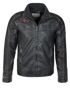 Petrol Industries Faux leather jacket - black - Zalando.co.uk