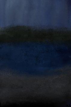 Blue mood by K. Jeffries