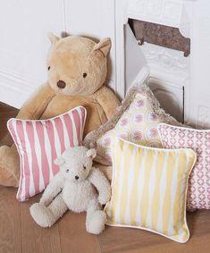 "Evie & Skye on Instagram: ""Bringing a dreamy nursery to life, piece by piece."" Girl Nursery, Girls Bedroom, Nursery Decor, Bedroom Ideas, Bedroom Decor, Pastel Girls Room, Colourful Cushions, Evie, Baby Girls"
