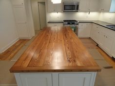 Custom Kitchen Island made from 150 year old heart pine House 2, Kitchen Island, Pine, Kitchen Ideas, Ms, Custom Design, Oxford, Doors, Heart