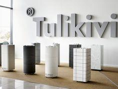 Tulikivi sähkökiukaat Tammistossa. Tulikivi sauna heaters at Studio Tammisto.