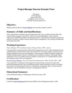 Physical Therapy Resume Objective | resume template | Pinterest ...