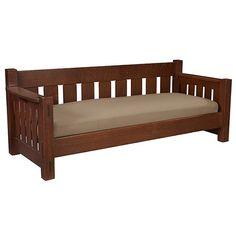 Limbert settle, x x Sofa Furniture, Unique Furniture, Furniture Plans, Furniture Design, Furniture Online, Garden Furniture, Wooden Couch, Wood Sofa, Sala Set