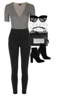 """""""Look #681"""" by foreverdreamt ❤ liked on Polyvore featuring Topshop, ASOS, Alpine, Marc Jacobs and CÉLINE"""