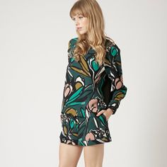 TOPSHOP: Floral Print Sweat and Shorts Make your florals match in our cosy bold print sweat with turn-up hem shorts. Bold Prints, Floral Prints, Suits For Women, Women Wear, Short Suit, Co Ord, Two Piece Outfit, Short Outfits, Dress Making