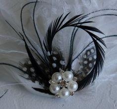 Accesorio del pelo de la boda accesorio de por PowderBlueBijoux