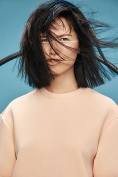 A classic shoulder-length bob in the most perfect glossy chocolate brown: https://industrieonline.com/duality-in-unity-zone-concept/?utm_campaign=coschedule&utm_source=pinterest&utm_medium=Industrie&utm_content=Duality%20in%20Unity%20by%20z.one%20concept