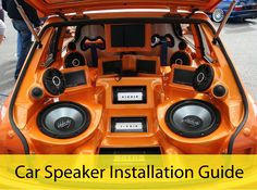Car Speaker Installation Guide Everything listeners are supposed to hear from their car stereo comes from the speakers. They produce the highs, the lows, and all the sounds in between. For those who are all about DIY, here is a Car Speaker Installation Guide which helps you install it yourself. Read more about Car Speaker Installation Guide at http://autoworks-nj.com/car-speaker-installation-guide/ #AllAboutGolfAndGolfThings!