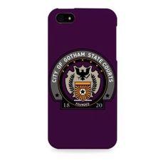 Dark Knight-Batman Gotham State courts Apple I phone 5 & 5S case (Officially Licensed)