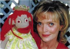 Peggy Mitchell with Ezmarelda