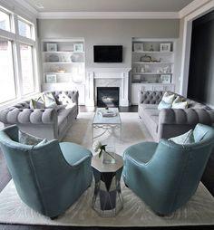 30 Elegant Living Room Colour Schemes | Pinterest | Living rooms ...