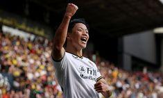 Watford 0-2 Wolves: Hwang Hee Chan strikes on his debut asBruno Lage finally tastes victory | Daily Mail Online Shooting Boots, Joshua King, Wolverhampton Wanderers Fc, Boxing Fight, Head Injury, Own Goal, Free Kick, Threes Game, Aston Villa