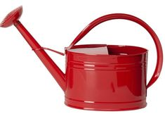 HIT 8584EXR Galvanized Heavy Gauge Steel Watering Can 2Gallon Red * Learn more by visiting the image link.