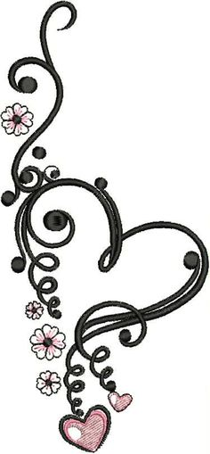 Free Embroidery Pattern From February 2015 | Perfect Valentines Embroidery Design