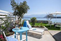 Outdoor Furniture Sets, Outdoor Decor, Beach House, Greece, The Unit, Patio, Home Decor, Beach Homes, Greece Country