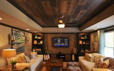 Oakley Basement Interior Design