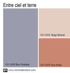 Une palette de #teintes minérales pour une #ambiance naturelle résolument moderne. www.chromaticstore.com