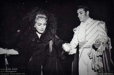 Elisabeth Schwarzkopf&Nicolai Ghiaurov in 'Don Giovanni',La Scala,1963