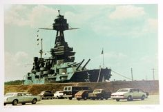 Battleship Texas Limited Edition by Tom Blackwell at Art.com