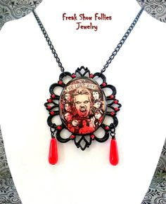 The Lost Boys movie necklace by FreakShowFollies on Etsy, $20.00