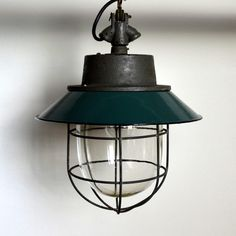 Industrialna Lampa przemysłowa C-11 - lata 60 - ShadenInteriorDesign - Lampy sufitowe