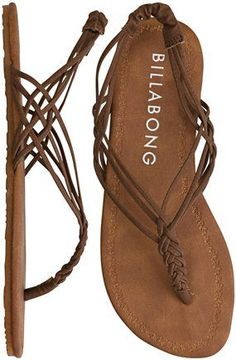 BILLABONG WOVEN THROUGH TIME SANDAL love love love these!!!!