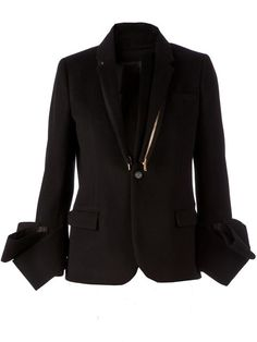 Shop Undercover structured cuff blazer in L'Eclaireur from the world's best independent boutiques at farfetch.com. Over 1000 designers from 60 boutiques in one website.