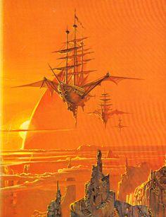 Bruce Pennington - Sky Pirates of Callisto, 1973.