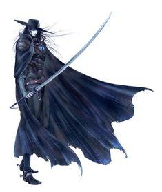Vampire Hunter D: Litho: D1