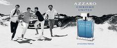 Tentez de remporter un des 2 parfums Chrome United Azzaro, le parfum de l'amitié !