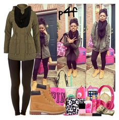 """""""Passion 4Fashion: Airport Here I Come!!!"""" by shygurl1 ❤ liked on Polyvore featuring Marc by Marc Jacobs, Forever 21, Brave Soul, Paula Bianco, Victoria's Secret PINK, Beats by Dr. Dre, Victoria's Secret, Timberland, Butter London and NARS Cosmetics"""