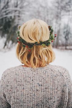 #snow #winter #Christmas | by bethany marie