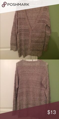 Forever 21 Purple Cardigan | Sweater cardigan, Chiffon ruffle and ...