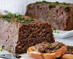 Mushroom Pâté Hors D'oeuvres, Recipe Details, 3 Ingredients, Stuffed Mushrooms, Food And Drink, Appetizers, Cooking Recipes, Vegetarian, Snacks