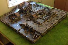 Neil of Orange's Hobby Blog: Malifaux Brawls Best use of Terra Clips I have seen