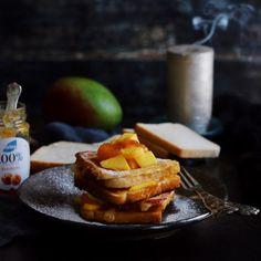 Jablkové tartaletky so slaným karamelom - Coolinári French Toast, Cheese, Breakfast, Blog, Mini, Hampers, Dulce De Leche, Morning Coffee, Blogging
