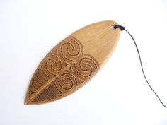 "This beautifully carved Purerehua ( pronounced Poo-re (as in ""rear"")-re-hoo-ah), is a Maori Musical Wind Instrument. The musical instrument. Maori Tribe, Ethno Design, Cultural Patterns, Maori Designs, New Zealand Art, Maori Art, Kiwiana, Bird Wings, Ancient Jewelry"
