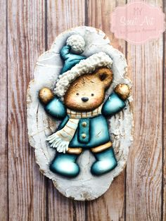 Winter Cookie by My Sweet Art