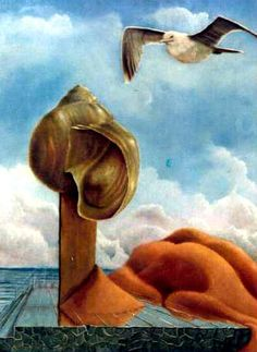 """Seashell (1978). A study project with Frans Erkelens. """"When you can paint a shell, you can paint everything,"""" he said."""