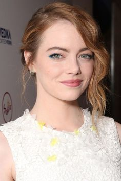 Here's what happens when Hollywood's golden manes are splashed with just the right amount of red: Emma Stone.