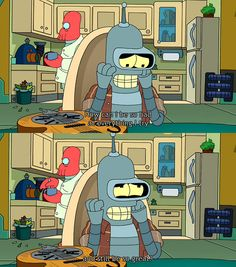 Bender. I ask myself the same thing.