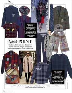 September Issue:Check Point: Styled by Olivia Halsall Tartan, Plaid, Vivienne Westwood, Harrods, Motorcycle Jacket, Adidas Jacket, Resume, Burberry, September