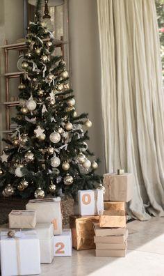 Regalos numerados con orden de prioridad o para saber a quién le corresponden.  #Navidad2015