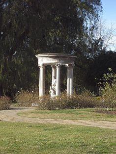 Huntington Library garden folly