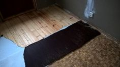 Removing linoleum from a southern Finland living room. Always Be Positive, Finland, Home Remodeling, Southern, Living Room, Home Living Room, Drawing Room, Lounge, Family Rooms