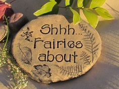 Fairy Garden or Herb garden sign -  via Etsy. Description from pinterest.com. I searched for this on bing.com/images