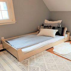 Bed Frames With Drawers Full Parents Room, Kids Room, Toddler Floor Bed, Kid Floor Bed, Toddler Rooms, Modern Kids Furniture, Kid Furniture, Bedroom Furniture, Furniture Design